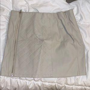 LF tan skirt